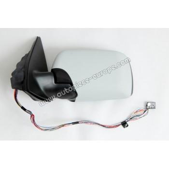 RETROVISEUR Coté conducteur - Commande électrique - Dégivrant - Glace asphérique bleutée - Coiffe prépeinte