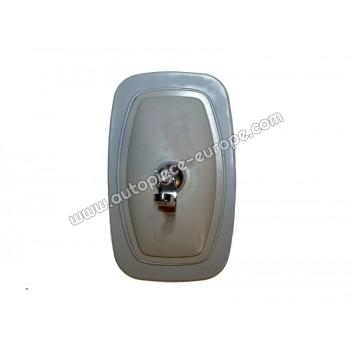 TETE RETRO 150x245 mm - Côté Droit-Gauche  - Commande manuelle - Glace plate - métal gris