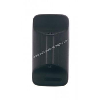 TETE RETRO Côté Droit-Gauche - Commande manuelle - Glace bombée - noir - 210x398 mm - Fix 22 mm