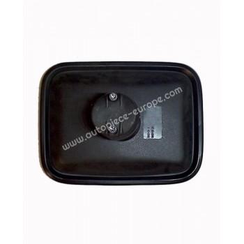 TETE RETRO 175x227 mm - Côté Droit-Gauche - Commande manuelle - Glace bombée - noir - Fix 16 à 22 mm